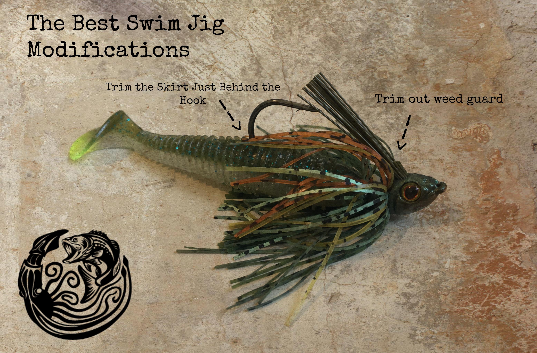 best swim jig bass fishing